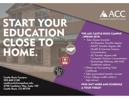 Higher Education in Castle Rock